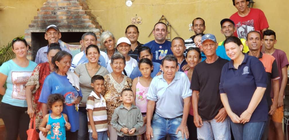 Juan Urdaneta y vecinos parroquia Chiquinquirá